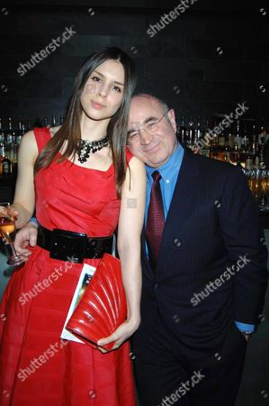 Afterparty For 'Bluebird' at the Mint Leaf Restaurant Rosa Hoskins with Her Father Bob Hoskins