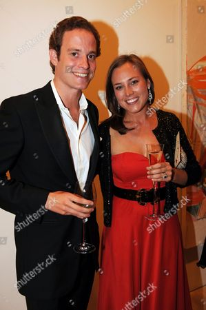 Art For Starlight Party in Aid of Starlight Children's Foundation Granting Wishes For Seriously Ill Children at the Saatchi Gallery Duke of York's Square Riccardo Lanza and Alice Van Cutsem