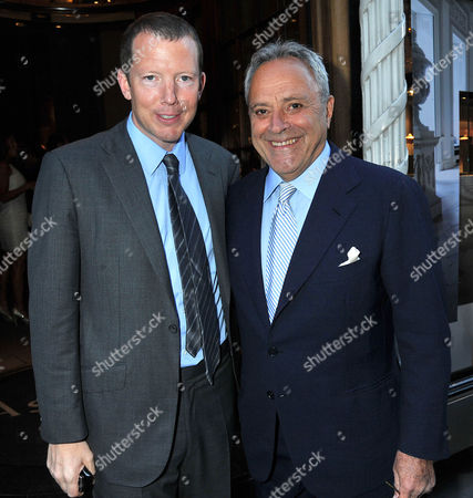 Asprey New Bond Street Host A Party to Celebrate Taki's 35 Years Writing His High Life Column in the Spectator Taki Theodoracopulos and Nat Rothschild