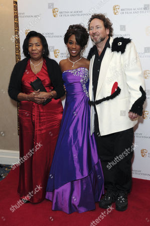 British Academy of Film and Television Children Awards Arrivals at the Hilton Park Lane Kemi Majeks with Her Mother