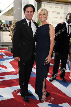 Arqiva 2012 British Academy Television Awards - Arrivals Tina Hobley and Oliver Wheeler