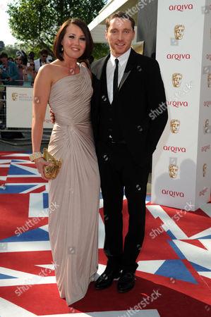 Arqiva 2012 British Academy Television Awards - Arrivals Rebecca Atkinson