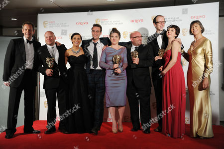 Arqiva 2012 British Academy Television Awards - Press Room 'This is England '88' Winner of Best Mini Series - Mark Herbert Vicky Mcclure Joseph Gilgun Rebekah Wray-rogers Shane Meadows Jack Thorne Rosamund Hanson Presented by Jenny Agutter and Alexander Armstrong