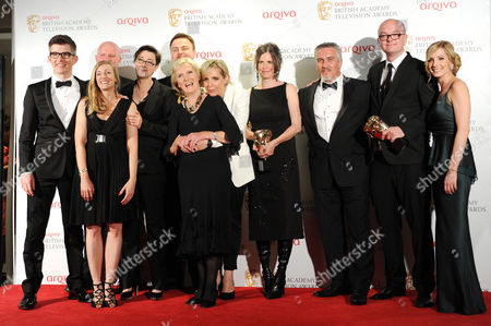 Arqiva 2012 British Academy Television Awards - Press Room Best Features Award For 'The Great British Bake Off' - Richard Mckerrow Melissa Brown Sue Perkins Andy Devonshire Mary Berry Mel Giedroyc Anna Beattie Paul Hollywood and Simon Evans with Presenters Gareth Malone and Joanne Froggatt