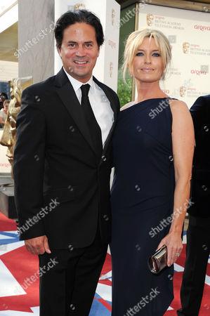 Arqiva 2012 British Academy Television Awards - Arrivals Tina Hobley with Her Husband Oliver Wheeler