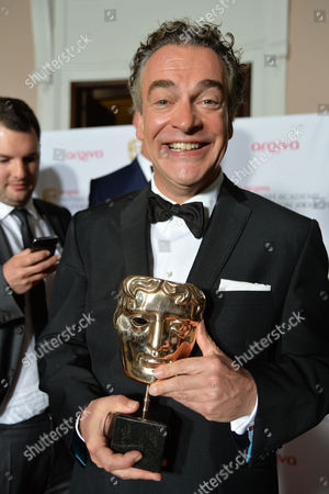 British Academy Television Awards Press Room at the Theatre Royal Drury Lane Best Situation Comedy - 'Him and Her the Wedding' - Kenton Allen