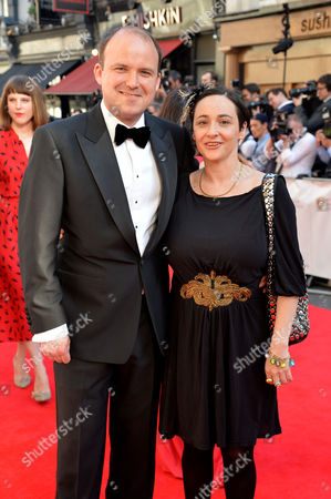 British Academy Television Awards at the Theatre Royal Drury Lane Rory Kinnear with His Partner Pandora Colin