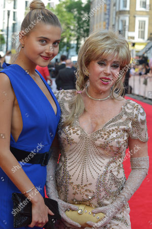 British Academy Television Awards at the Theatre Royal Drury Lane Sally Farmiloe with Her Daughter Jade