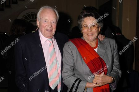 Press Night Party at the Canadian High Commission Canada House London For 'Becket' Following the 1st Night at the Theatre Royal Haymarket Tony Britton and Partner