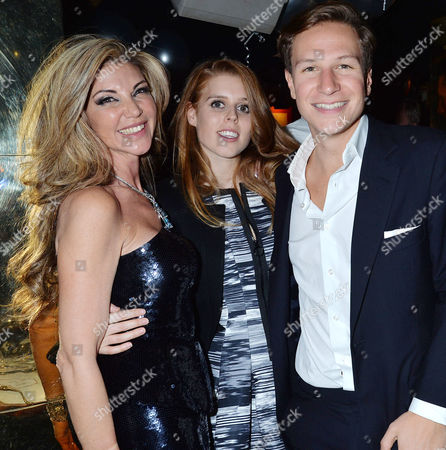 Birthday Party For Lisa Tchenguiz at Annabel's Berkeley Square Lisa Tchenguiz Princess Beatrice of York and Dave Clarke