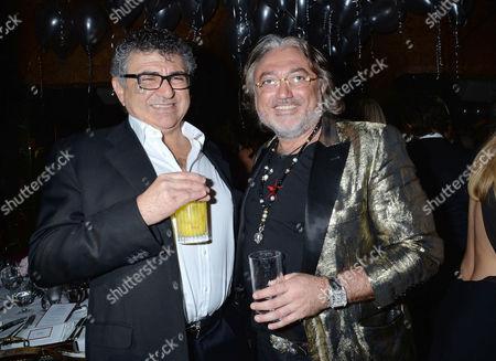 Birthday Party at Annabel's Berkeley Square Vincent Tchenguiz with His Brother Robert Tchenguiz