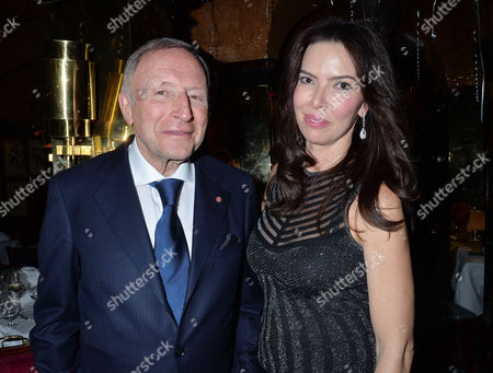 Birthday Party at Annabel's Berkeley Square Laurence Graff and Josephine Daniel
