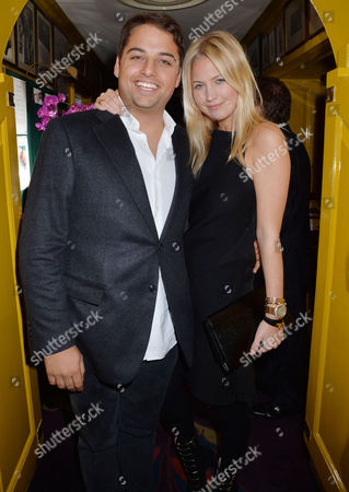Birthday Party at Annabel's Berkeley Square Jamie Reuben with His Girlfriend Marissa Montgomery