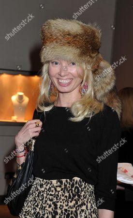 Book Launch of Invisible at Asprey New Bond Street Mayfair London Eva Fahler