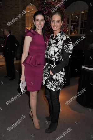 Book Launch of Invisible at Asprey New Bond Street Mayfair London the Books Author Countess Nathalie Von Bismarck & Trinny Woodhall