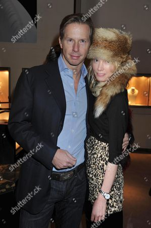 Book Launch of Invisible at Asprey New Bond Street Mayfair London Christopher Getty & Eva Fahler