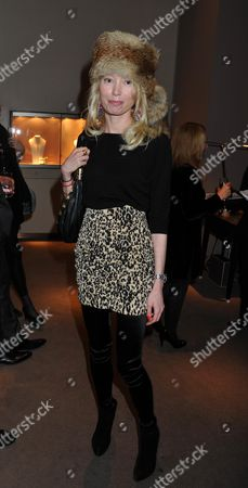 Stock Photo of Book Launch of Invisible at Asprey New Bond Street Mayfair London Eva Fahler