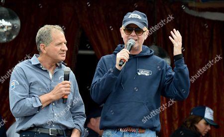 30 08 15 Carfest South 2015 at Laverstoke Park Farm Jody Scheckter & Chris Evans