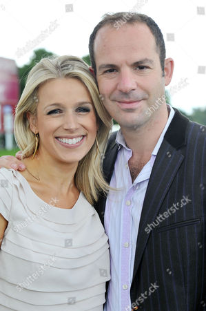 Cartier Queens Cup Polo at Smiths Lawn Windsor Martin Lewis with His Wife Lara Lewington