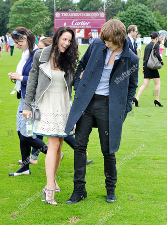 Cartier Queens Cup Polo at Smiths Lawn Windsor Kaya Scodelario and Elliott Tittensor