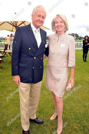 Cartier Queens Cup Polo at Smiths Lawn Windsor Galen Weston with His Wife Hilary