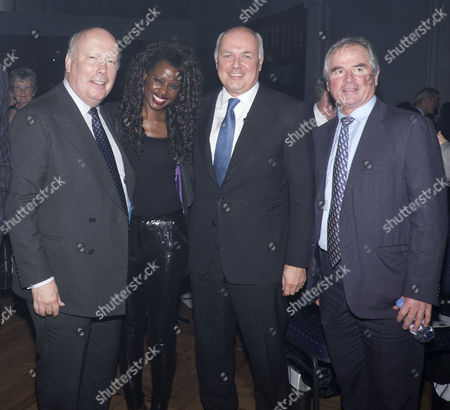 Centre For Social Justice Awards 2014 the Lindley Hall Royal Horticultural Halls London Lord Julian Fellowes Iain Duncan Smith Mp & Allan Lamb