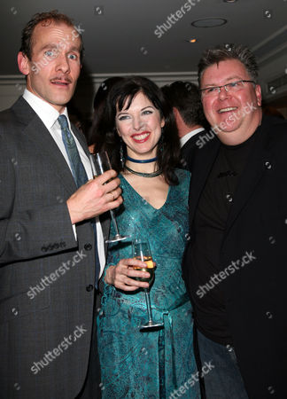 Change of Cast Party For 'The 39 Steps' at Franco's Jermyn Street New Cast Members - Simon Paisley Day Josefina Gabrielle and Martyn Ellis
