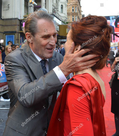 'Chariots of Fire' Great British Premiere at the Empire Leicester Square Ben Cross and Alice Krige
