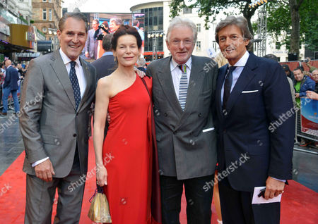 'Chariots of Fire' Great British Premiere at the Empire Leicester Square Ben Cross Alice Krige Hugh Hudson and Nigel Havers