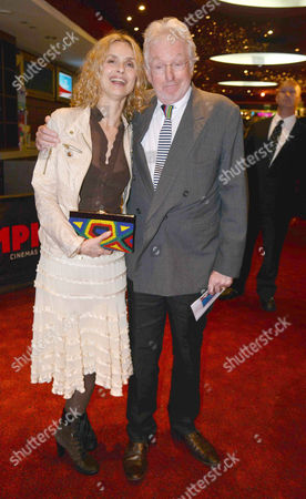'Chariots of Fire' Great British Premiere at the Empire Leicester Square Hugh Hudson with His Wife Maryam D'abo
