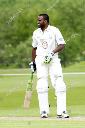 Annual Charity Cricket Match in Aid of Wellbeing of Women at the Wormsley Park Estate in Buckinghamshire After Flooding Changed the Location From Chippinghurst Manor Devon Malcolm