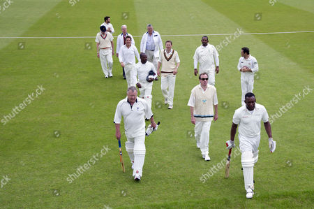 Editorial image of Charity Cricket Match - 17 Jun 2012