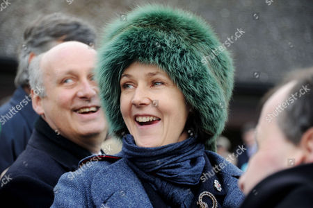 Cheltenham Festival at Cheltenham Racecourse Lucy Birley She Had A Horse in the Final Race