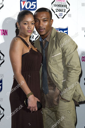 Cosmopolitan Ultimate Women of the Year Awards at the V&a Ashley Walters with His Girlfriend Natalie Williams