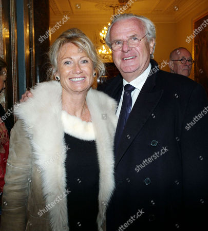 'A Bigger Picture' Private View at the Royal Academy of Arts Piccadilly Lord Paul Myners with His Wife Alison
