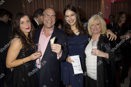 English National Ballet's Nutcracker Reception at the London Coliseum Gregg Wallace with Girlfriend Anne-marie Sterpini Sophie Winkleman and Judy Finnigan