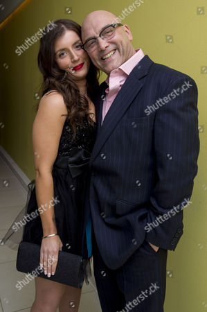 English National Ballet's Nutcracker Reception at the London Coliseum Gregg Wallace with Girlfriend Anne-marie Sterpini