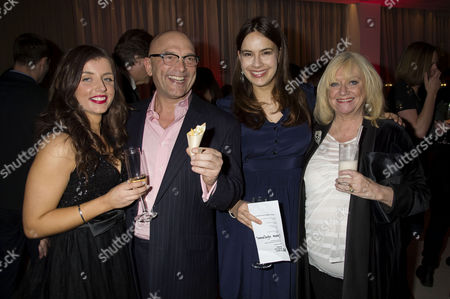 Stock Picture of English National Ballet's Nutcracker Reception at the London Coliseum Gregg Wallace with Girlfriend Anne-marie Sterpini Sophie Winkleman and Judy Finnigan