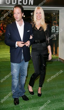 European Premiere of 'Stardust' at the Odeon Leicester Square Matthew Vaughn and Claudia Schiffer