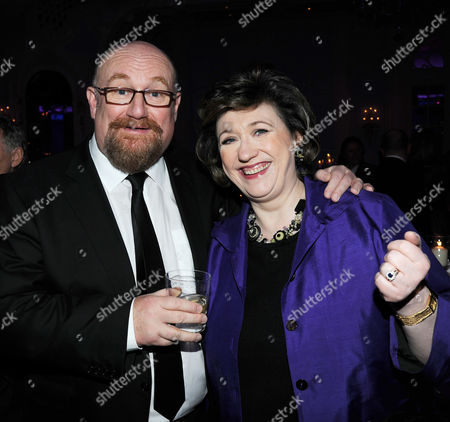 Evening Standard Theatre Awards 2010 at the Savoy Hotel Howard Panter with His Wife Rosemary Squire