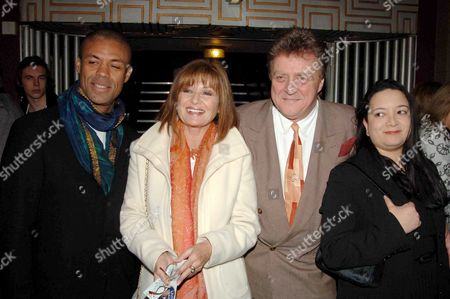 First Night of 'Movin' Out' at the Apollo Theatre Victoria and Afterparty at Pasha Stephanie Beacham and Nicholas Ball