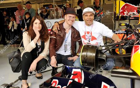 Editorial photo of Formula 1 Santander British Grand Prix Race Day at Silverstone - 10 Jul 2011