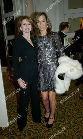 Foyles Black Tie Gala Dinner in the Ballroom at Grosvenor House Hotel Park Lane London to Celebrate the 80th Anniversary of the Foyles Literary Luncheon Jane Asher with Tara Palmer-tompkinson