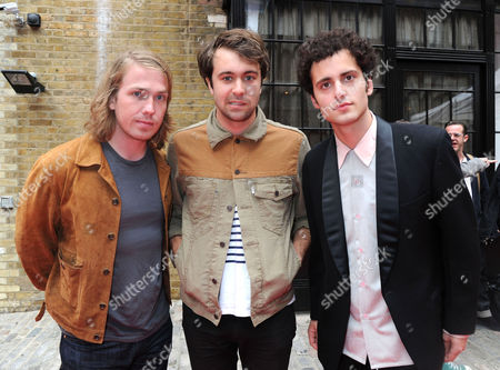Glenfiddich Mojo Honours List Awards 2011 at the Brewery Chiswell Street the Vaccines - Freddie Cowan Justin Young and Arni Hjorvar
