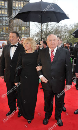 Gorby 80 Gala Arrivals at the Royal Albert Hall Mikhail Gorbachev with Daughter Irina Virganskaya and Her Husband Andrey Trukhachev
