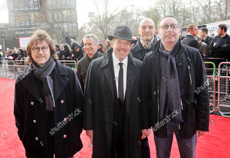 Gorby 80 Gala Arrivals at the Royal Albert Hall Andrey Makarevich (c) and Members of Rock Band Mashina Vremen