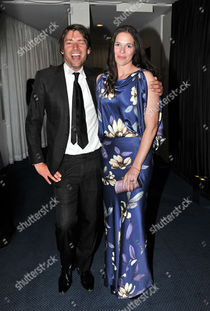 Gq Awards at the Royal Opera House Alex James with His Wife Claire Neate