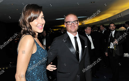 Gq Awards at the Royal Opera House Heston Blumenthal with His Girlfriend Suzanne Pirret