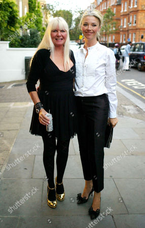Guys and Dolls Private View at the Little Black Gallery Park Walk Fulham Lindsey Carlos Clarke and Tamara Beckwith