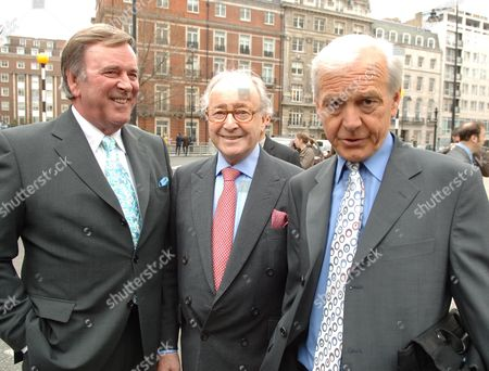 Opening of the New Bbc Building in Celebration of Her 80th Birthday and the 80th Anniversary of the Bbc Charter Terry Wogan David Jacobs and John Humpheries
